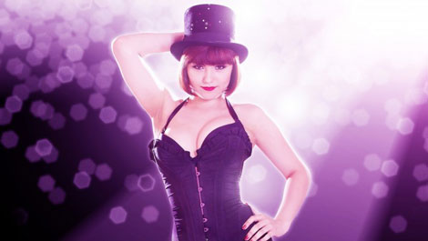 Samantha Banks as Sally Bowles in Cabaret