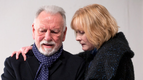 Kenneth Cranham as Andre and Claire Skinner as Anne. Photo by Simon Annand