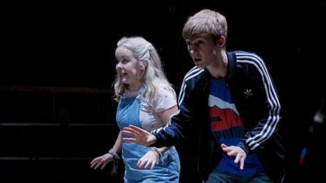 Nicola Coughlan as Jess and Rhys Isaac-Jones as Joe. Photo by Richard Davenport.