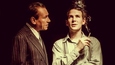Simon Dutton as Terry and Paul Keating as Kenny. Photo by Idil Sukan.